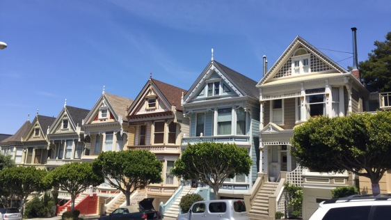 The Painted Ladies from the opening scene from Full House